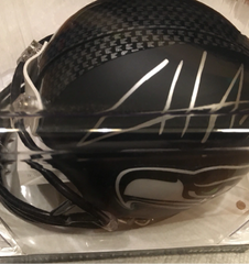 Cliff Avril - Autographed mini helmet