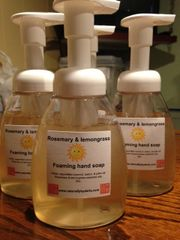 Rosemary & Lemongrass Liquid Foaming Hand Soap