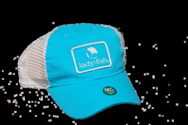 9d4a07d77e3 NEW! Coastal Blue relaxed twill Trucker hat