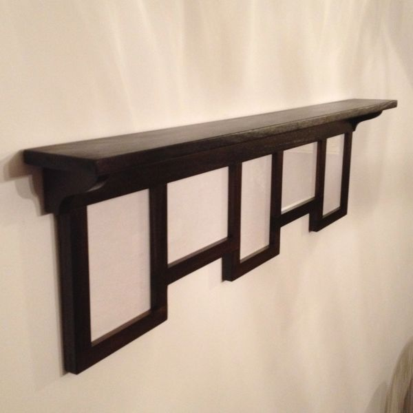 Wooden Shelf And 5x7 Collage Frame Zimwoodworking Handmade And