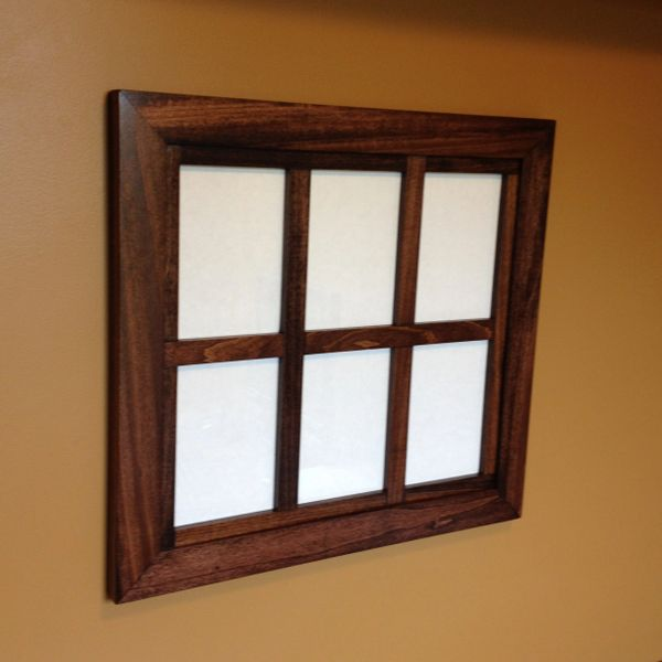 Custom Windowpane Collage Frame For 5x7 Zimwoodworking Handmade