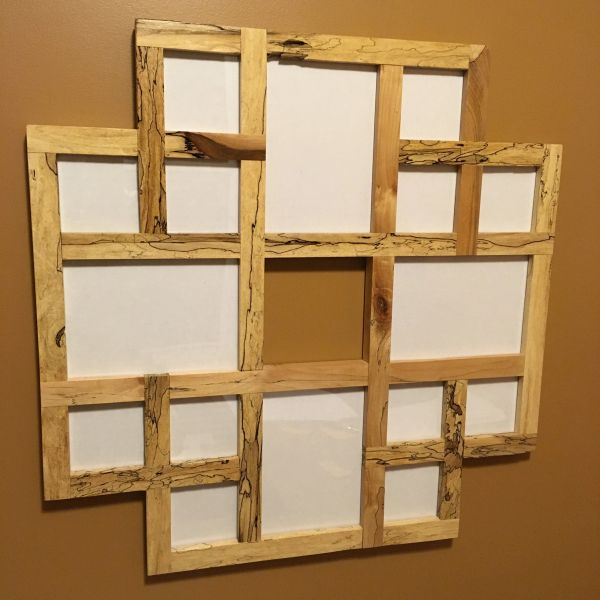 Collage Frame - Spalted Maple