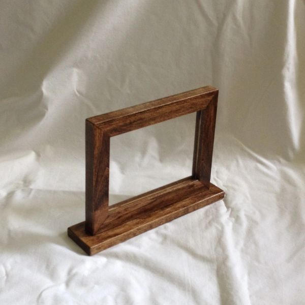 Double Sided Frame Zimwoodworking Handmade And Custom Wood Products