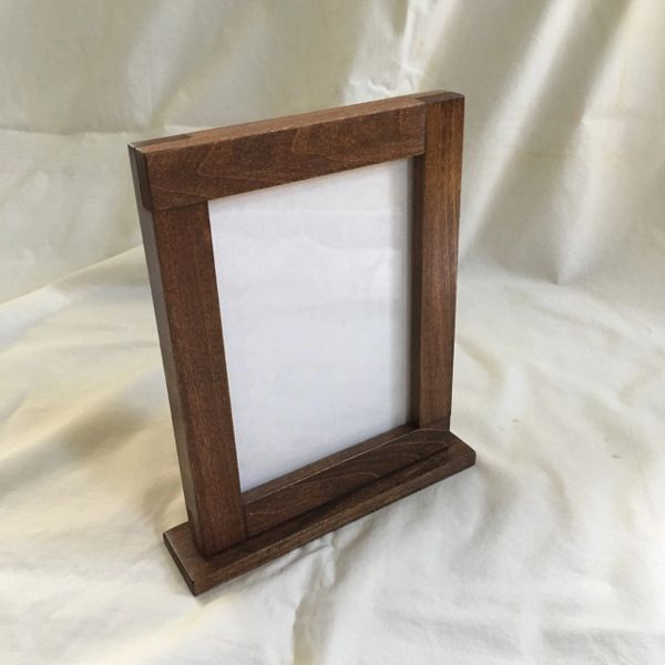 Freestanding Picture Frame, Tabletop Picture Frame | ZimWoodworking ...