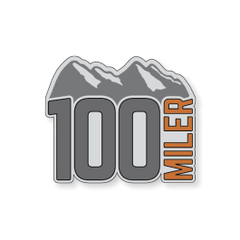Mountain 100 Miler Sticker