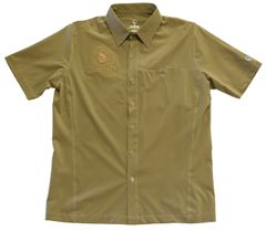 *KUHL MEN'S FINISHER RENEGADE S/S BUTTON UP-KHAKI