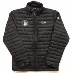 Men Down Jacket -Round or Rectangle Logo