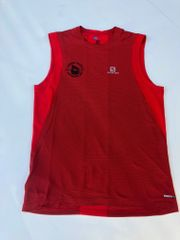 M Salomon Trailrunner Tank Red