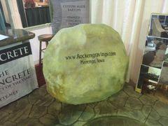 Large Cast Stone Boulders