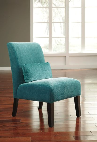 Ashley Furniture 61604 Annora Series Teal Color Accent Chair