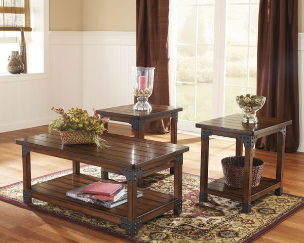 Ashley Furniture Murphy Series Coffee And End Table Set Sofa Table