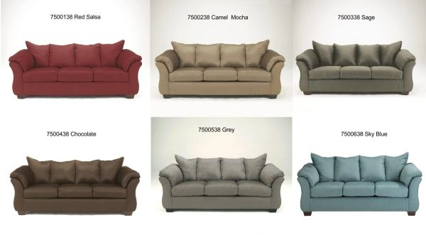 Darcy Series Sofa 6 Colors Factory Direct Bedding And
