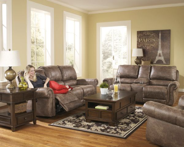 741 Series From Ashley Reclining Sofa Loveseat And Swivel Rocker