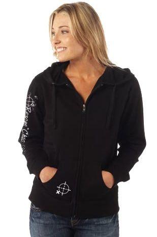 Full Zip Hoodie - Black