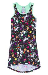 Unicorn love active dress