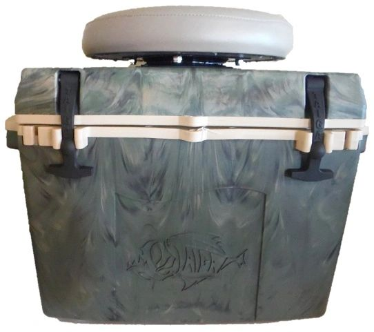 27 Quart Camo Cooler With Swivel Seat Just Grillin Tx