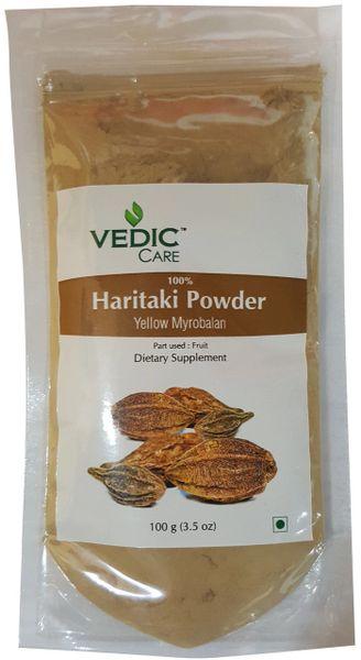 Vedic Care 100% Haritaki Powder (Yellow Myrobalan) 100 Grams