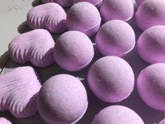 Pink Rhubarb Bath Bomb