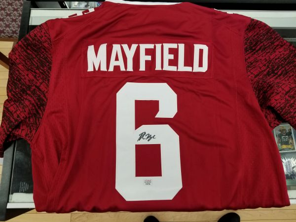 baker mayfield oklahoma jersey for sale