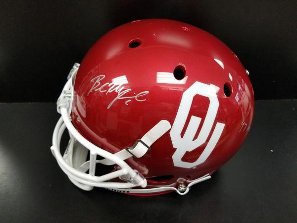 3111f0c6e Baker Mayfield Signed Full Size Schutt Replica Helmet