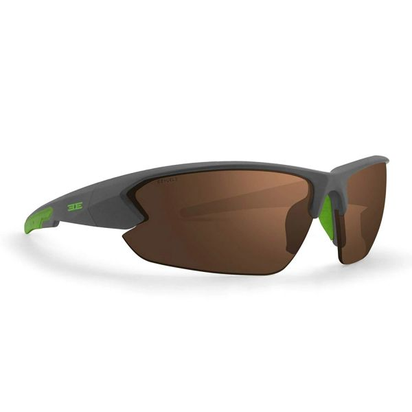 ff7db77871d Epoch Eyewear 4 Ultra Sporty Gray Lime Frame With Hc Brown Lens Sunglasses