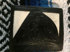 Black Leather Wallet from Cuernavaca