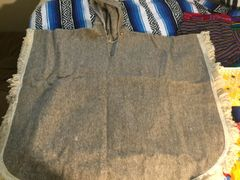 Pure Wool Pancho from Chiapas