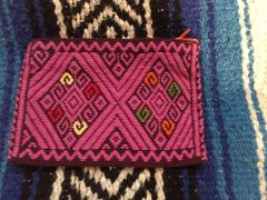 Pink Coin Purse from Chiapas