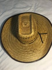Straw Hat made in Mexico