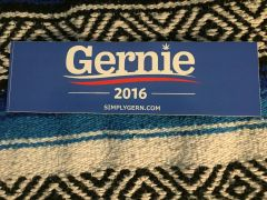 Gernie Bumper Sticker