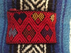 Red Coin Purse from Chiapas