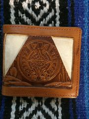 Brown Leather Wallet from Cuernavaca