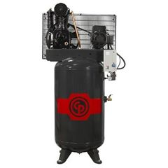 5 HP AIR COMPRESSORS | 18.5 CFM TWO STAGE ELECTRIC - 80 GALLON TANK - 208-230/3/60 RCP-C583VS