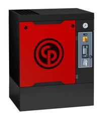 10 HP, CHICAGO PNEUMATIC ROTARY SCREW AIR COMPRESSOR, 33 ACFM, BASE MOUNTED, QRS 10 HP