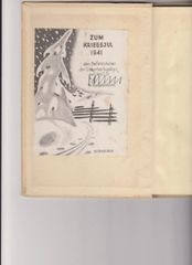 Heinrich Fehlis SD Commander Norway signed book