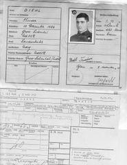SS Umsiedler ausweis to Russian volunteer