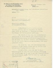 Ernst Kaltenbrunner signed letter