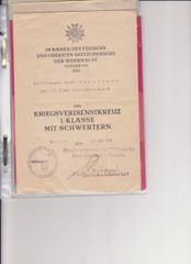 Wilhelm Canaris signed document
