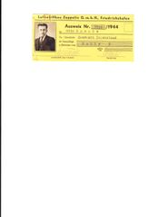 Zeppelin Ausweis ID
