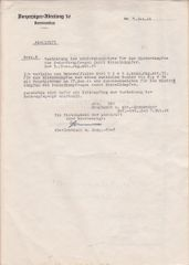 Award document for Tank Destruction Badge