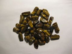 1 lb. Tigereye Tumbled Stones
