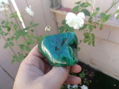 Polished Malachite