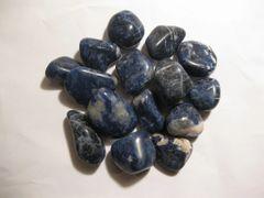 1 Lb. Sodalite Tumbled Stones