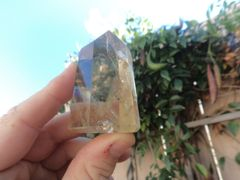Natural Citrine Point Polished