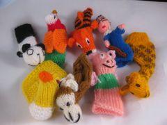 8 Finger Puppets