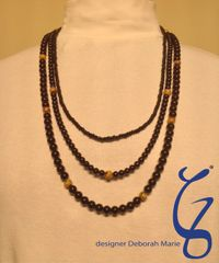 Black Onyx with Yellow Pop