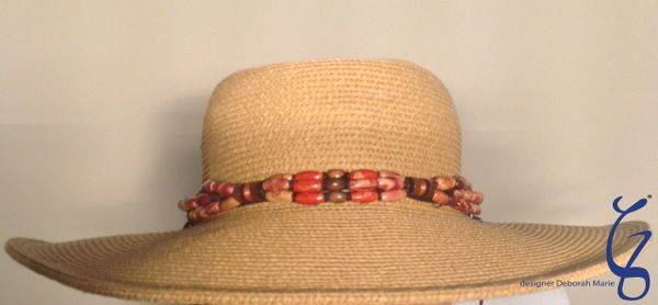 Indian Hat Jewelry with Leather-SOLD