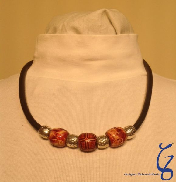 New Zealand Beads with German Soft Leather