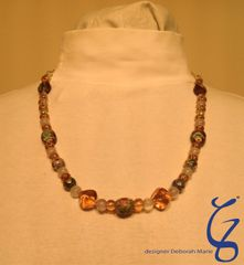 Gold with Tangerine-SOLD
