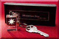 Moravian Star Keychain